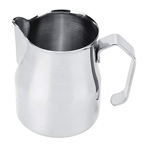 Woyisisi 350ml Stainless Steel Milk Frothing Jug Cup Coffee Milk Pitcher Jug for Latte Art