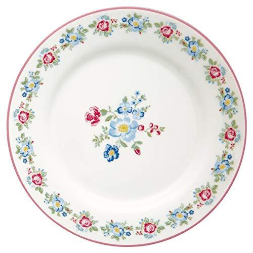 GreenGate Teller Henrietta Weiß Porzellan Geschirr Kuchenteller Dessertteller