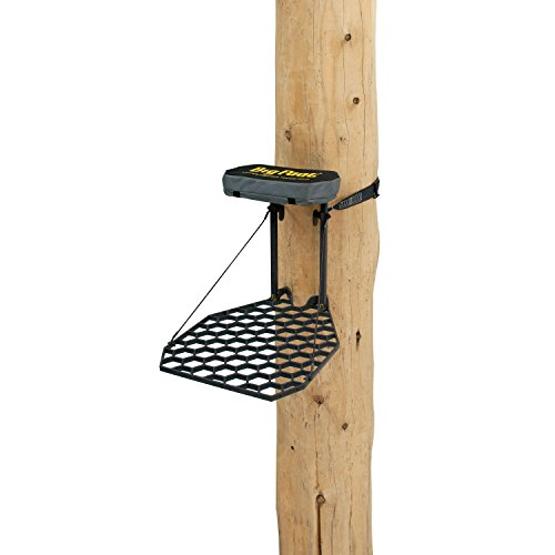 "Rivers Edge RE557 Big Foot Lite Foot Hang-On Tree Stand, 28"" x 21.5"" Platform, Cast Aluminum"