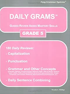 Daily Grams Guided Review Aiding Mastery Skills Grd 5: Grade 5