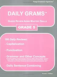 Daily Grams Guided Review Aiding Mastery Skills Grade 5