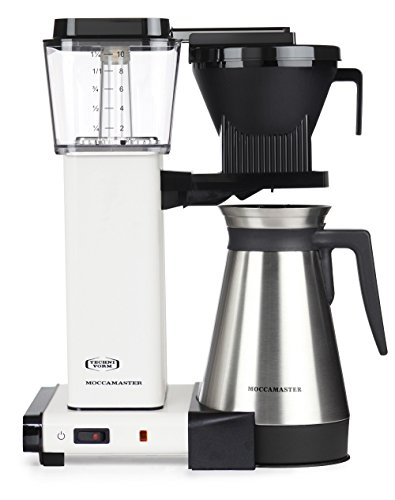 Moccamaster 79328 Filter Coffee Machine, 1450 W, 1.25 liters, Cream