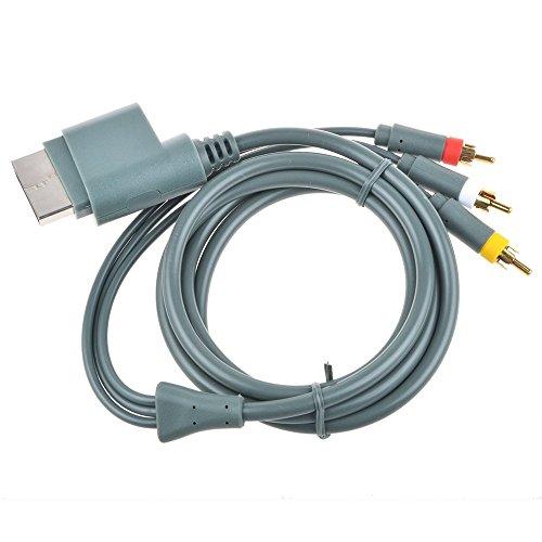 Audio Video Composite Cable Av (Nuevo) - Xbox 360