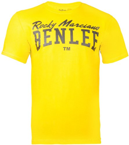 Ben Lee Logo Shirt, Giallo, XL (UK L) Uomo