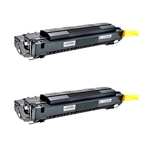 2 Logic-Seek Toner kompatibel zu HP C3903A 03A Laserjet 5P, 5MP, 6P, 6MP Serie - Schwarz je 4.000 Seiten