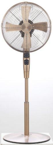 Pieria(ピエリア) 30cm メタルハイリビング扇風機 ブロンズ フルリモコン式 風量3段階切替 アロマケース付き