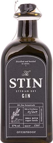 Stin Styrian Dry Gin OVERPROOF Gin (1 x 0.5 l )