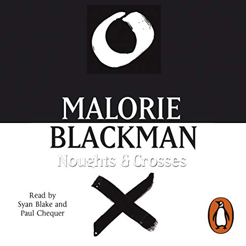 Noughts and Crosses audiobook cover art
