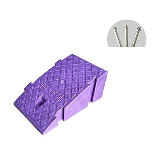 Z-Ramps mat buitenshuis drempelsteun 16cm / 19CM, straatstappen-duurzame anti-slip driehoekige pad wasmand hotelservice oprijplaat stoeprandingen