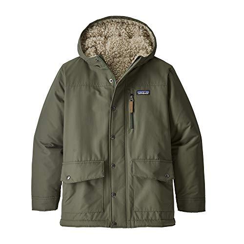 (パタゴニア)patagonia Boys' Infurno Jacket 68460 Industrial Green w/Coriander Brown (IGCO) XXL