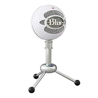 Blue Snowball USB Microphone (Textured White) (B000EOPQ7E) | Amazon price tracker / tracking, Amazon price history charts, Amazon price watches, Amazon price drop alerts
