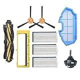 Huicai 1 Cepillo Principal 1 Cubierta de Rodillo 2 Cepillos Laterales 3 Filtros 1 Filtro Primario 1 Accesorios de Rueda Universal para Conga 990