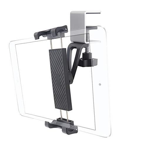 Cuxwill Soporte Estable para Tableta de Cocina con Abrazadera de Metal y rotación Completa para iPad Pro 12.9 11 10.5, iPad Air 5 4 3, iPad Mini, Samsung Galaxy Tabs y más tabletas de 7-12.9 Pulgadas