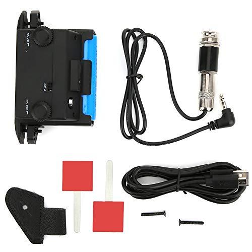 Akustische Gitarrenaufnahme, magnetische Einstellung Gitarrenteile Mikrofoneinstellung Einfach zu installieren