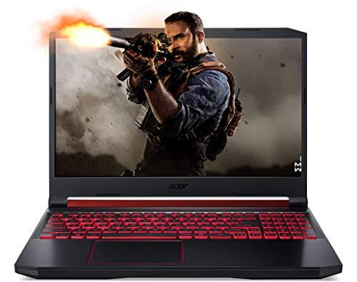 Acer Nitro 5 Intel Core i5-9300H 15.6-inch Full HD 1920 x 1080 Display Thin and Light Gaming Laptop (8GB/1TB+256GB SSD/Windows 10 Home/GTX 1650 Graphics/Obsidian Black/2.3 kgs),AN515-54