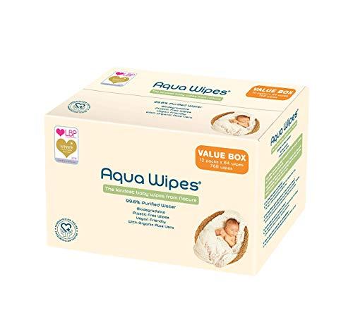 Toallitas higiénicas Aqua Wipes