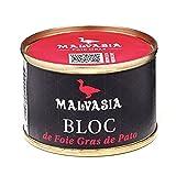 MALVASIA Bloc de Foie Gras de Pato, Lata de 65 g