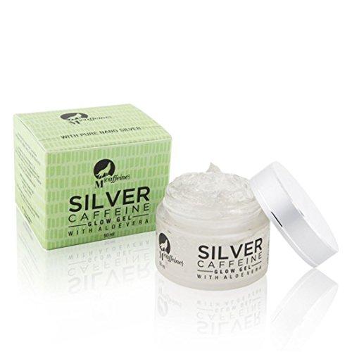 Mcaffeine Silver Caffeine Glow Gel With Aloe Vera - Paraben Free - 50 Ml