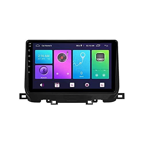 Navigatore satellitare Autoradio GPS HD Touchscreen multimediale Lettore musicale automatico Unità principale Ricevitore radio per KIA Sportage 2018-2019 con navigazione Bluetooth 4G Wifi USB, 4 core