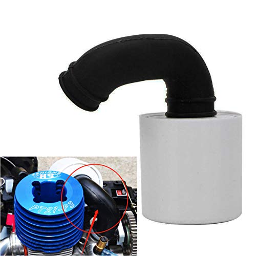 ShareGoo RC 1/8 Air Filter Cleaner Upgraded Parts Fit SH.28 Engine for HSP Axial Traxxas Redcat Losi Himoto 1/8 RC Nitro Car Truck Buggy
