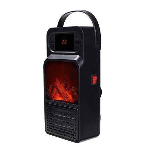 XIANGAI Calefactor Pequeños electrodomésticos Mini Calentador Aficionados Espacio Personal de calefacción eléctrica for calefacción con inclinable de Cierre Chimenea y calefacción for Uso Interior.