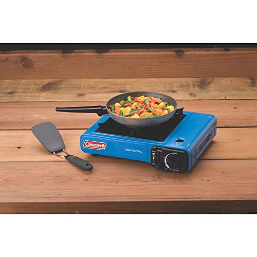 41CMOFMaxoL - Coleman Portable Butane Stove with Carrying Case