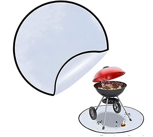 VTAMIN Fire Cup Mate/Fire Pit Matte/Grill Actualización de refrescante, colchoneta Protectora Redonda de 30 '' para el Foso de Fuego de Madera/Pico de Fuego de Gas/Parrilla de carbón/de Carb
