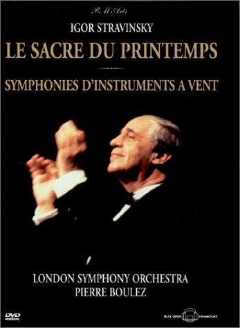 Stravinsky - Le Sacre du Printemps (The Rite of Spring) / Symphonies D'Instrument Vent / Boulez, London Symphony Orchestra [Import USA Zone 1]