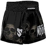 SMMASH Wotore Spirit Muay Thai Shorts Herren, Kurz Hosen für Thaiboxen, Kickbox, Boxing, K1, Muay Thai Short mit Elastischem Bund, Perfekte Passform für Kampfsport, Hergestellt in der EU (XL)