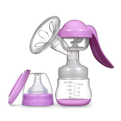 Rabbfay Handbuch Brust Pumpe, Einfach tragbar Brust Füttern Pumpe Stillzeit Milch Extraktor Silikon Brust Pumpe, Toll zum das Mama WHO ist Pumpen