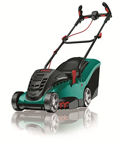 Bosch Rotak 36 LI Ergoflex Cordless Lawn Mower with 36 V Lithium-Ion Battery, Cutting Width 37 cm