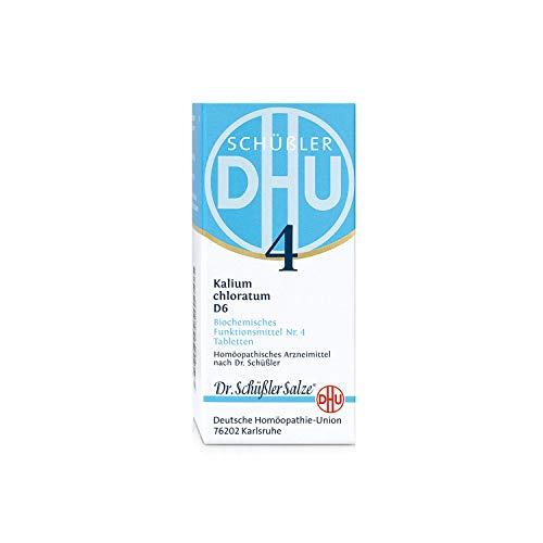 DHU Schüßler-Salz Nr. 4 Kalium chloratum D6 Tabletten, 200 St. Tabletten