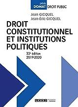 Livres Droit constitutionnel et institutions politiques PDF