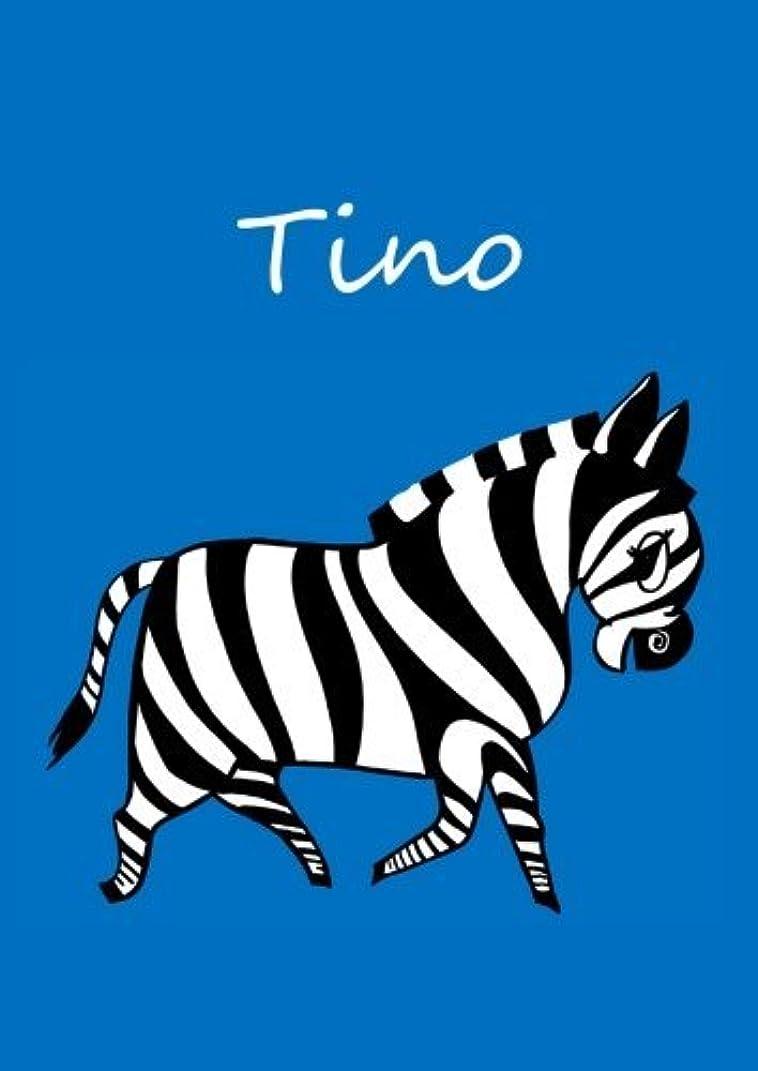 ポータル木忘れっぽいTino: individualisiertes Malbuch / Notizbuch / Tagebuch - Zebra - A4 - blanko
