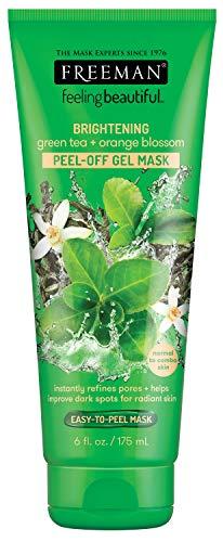 Freeman Gree visage Thé + Fleur d'oranger Peel-Off Gel Masque 6 oz (175 ml)