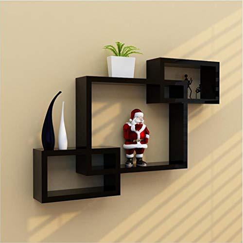 Floating Frame – creatieve fotolijst van latex, voor de weergave in de kamer, ter decoratie van de muur Zwart