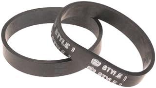 Dirt Devil Style 1 Vacuum Belt (2-Pack), 3157260001, Black