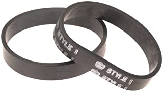 Dirt Devil Not Style 1 Vacuum Belt (2-Pack), 3157260001, Black