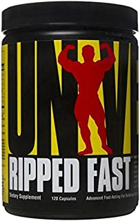 Universal Nutrition Ripped Fast Fat Loss Supplement, 120 Capsules