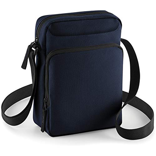 Bagbase Across Shoulder Strap Cross Body Bag (One Size, French Navy)
