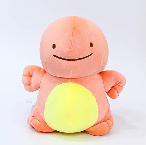 lili-nice Plüschtiere Anime Pocket Animal Ditto Kissen Kissen Transfer Pikachu Charmander Squirtle Bulbasaur Gefüllte Plüschpuppen Geschenk 25Cm