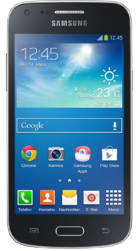 Samsung Galaxy Core Plus Smartphone (10,9 cm (4,3 Zoll) TFT-Touchscreen, 5 Megapixel Kamera, WiFi, NFC, S Beam, Android 4.2.2) schwarz