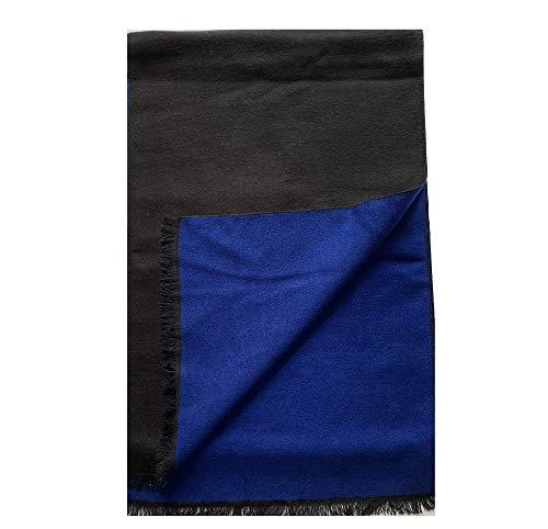 PB Pietro Baldini Bufanda bicolor - Bufanda hombre muy elegante y caliente - 100% Seda en dif colores Talla 30 x180