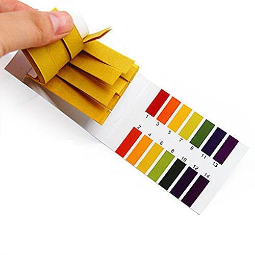 1-14ph Wert Indikator Teststreifen Lackmuspapier ph-Teststreifen pH-Anzeigegerät Säure Lauge Test Papier 160 Stück