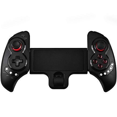 QCHEA Controlador de Juego inalámbrico, Controlador de Juego inalámbrico Bluetooth telescópico Gamepad for Android Tablet PC