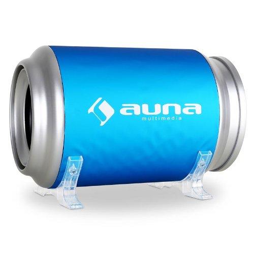 Auna subwoofer per auto a tubo attivo da 20cm (8') 500W
