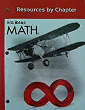 Big Ideas MATH: Common Core Resources by Chapter Red