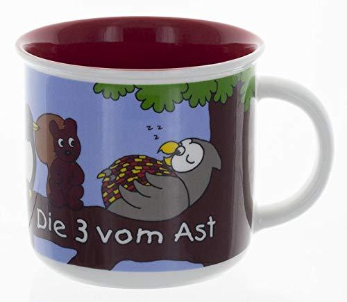 Die Drei vom Ast - Tasse