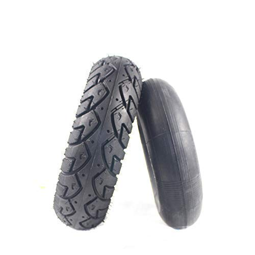 aipipl Neumáticos de Scooter eléctrico, 4,10/3,50-4 neumáticos Tubo Interior para Scooter de Motocicleta 47 / 49CC Mini Quad Dirt Pit Bike ATV Go-Kart Piezas de neumáticos Gruesos