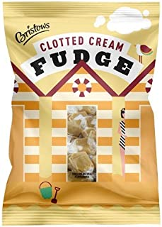 Bristows Clotted Cream Fudge 150g (Pack of 6)